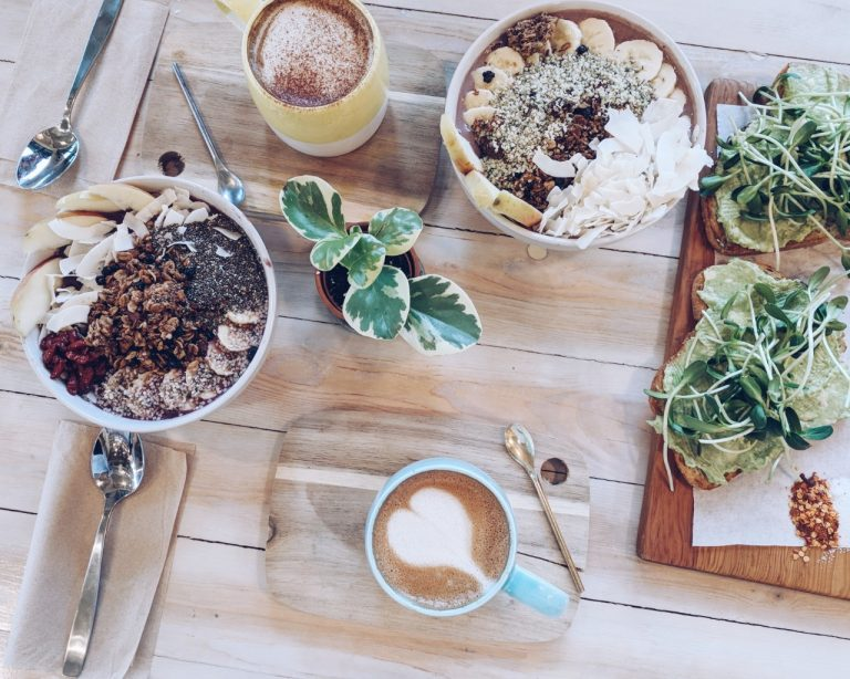 acai bowls, buddha, coffee, latte art, london fog, avocado toast, hispter, cafe