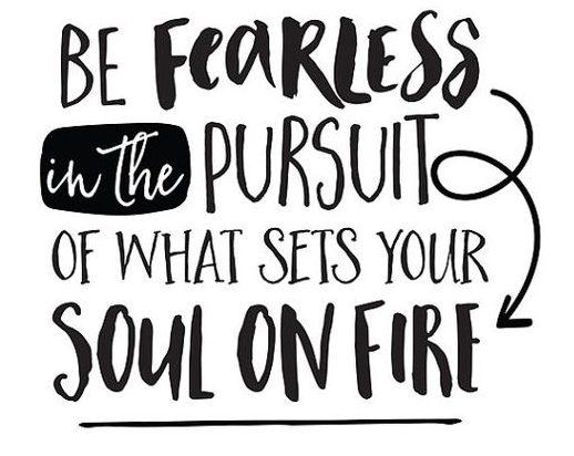 Fearless Pursuit Quote Lafleur Lifestyle